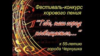 Фестиваль конкурс хорового пения «Тебе, наш город посвящается...»