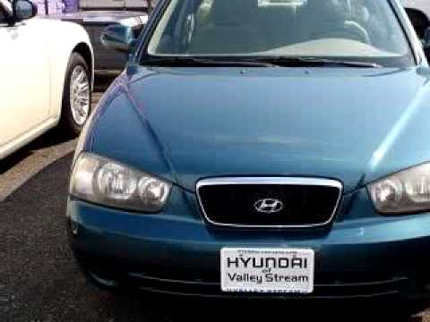 SOLD - Hyundai of Valley Stream - 2003 Hyundai Elantra GLS