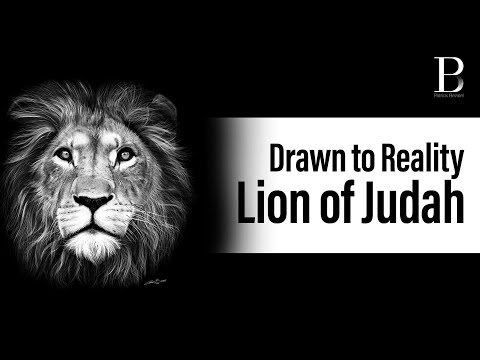Hyperrealism Art: The Lion of Judah by Patrick Bezalel