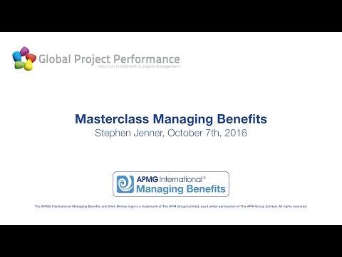 Managing Benefits™ | APMG International