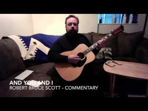 12 String Guitar   Yes   And You And I   Guitar Lesson   Robert Bruce Scott