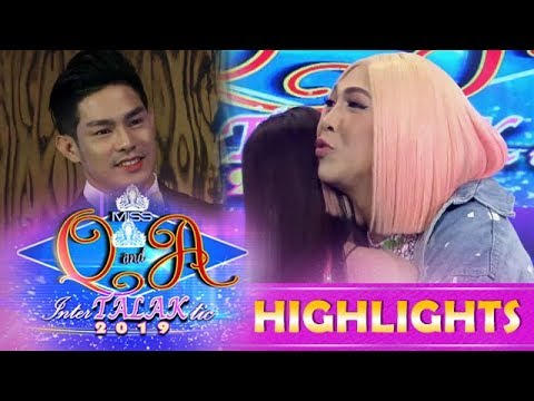 It's Showtime Miss Q and A: Vice says 'I Love You' to Kuya escort Ion