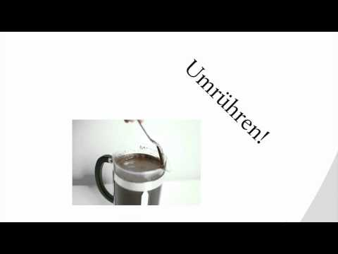 Wie Bereite Ich Den Kaffee In Der French Press Zu