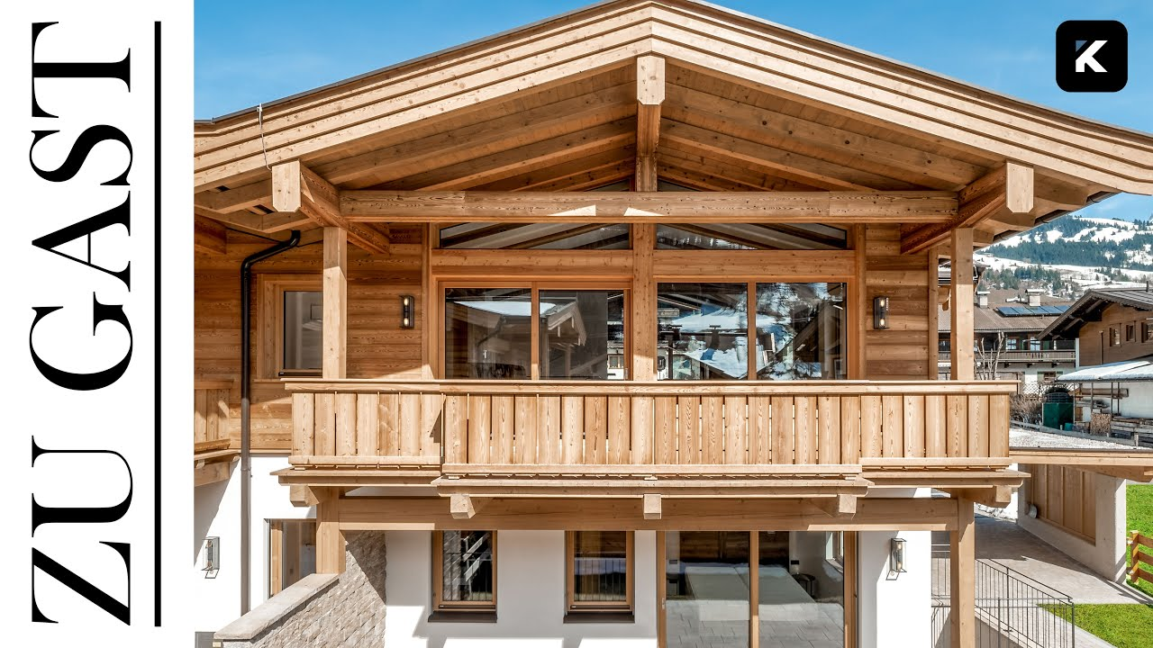 Haustour: Chalets in Aurach bei Kitzbühel €2.295.000,00 in Tirol
