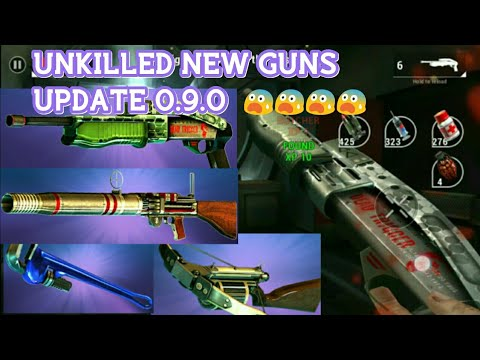 UNKILLED NEW UPDATE 0.9.0 WEAPONS GAMEPLAY