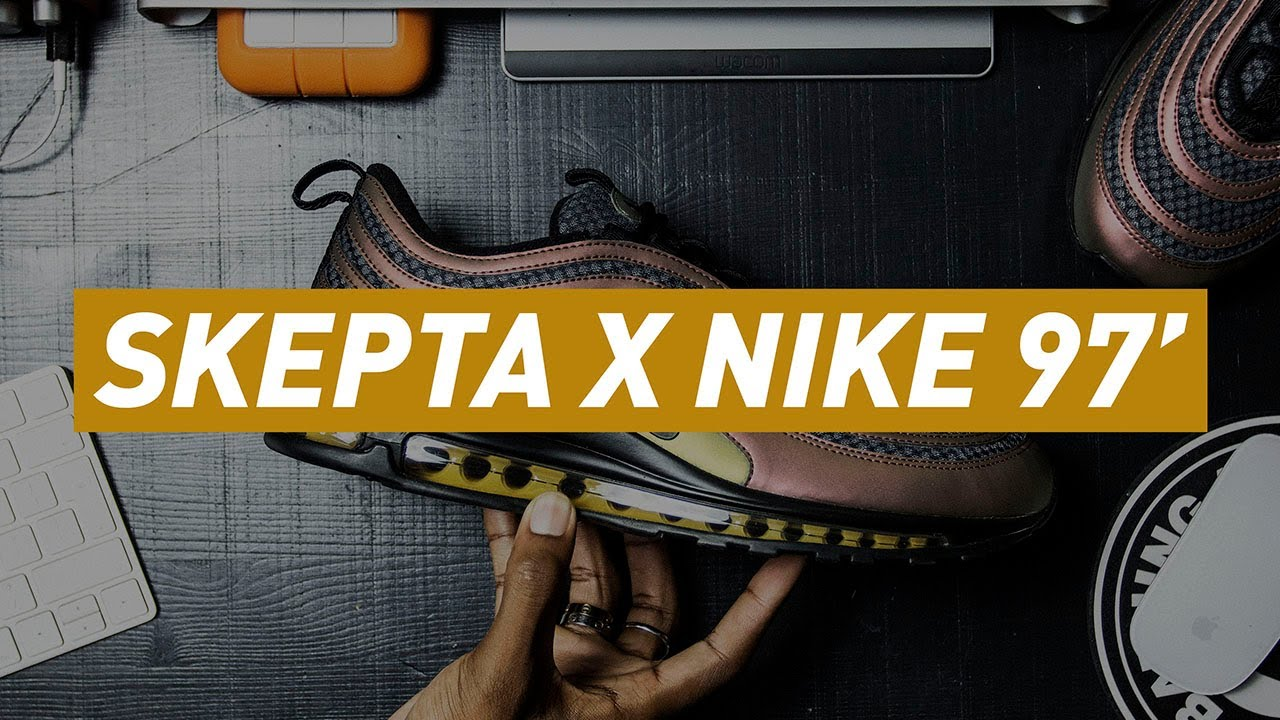 ee2d4695724 SKEPTA X NIKE AIR MAX 97 ULTRA 17  LONDON TO MARRAKECH  UNBOXING ...
