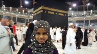 Maryam is reciting first ten verses of Surah Al-Kahf