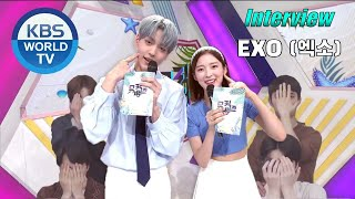 (ENG SUB) EXO(엑소) MusicBank Interview 210618 + DFTF 1st Win …