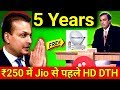 अब Reliance की 5 साल फ्री आफर Jio से पहले । Reliance Digital TV HD free for 5 Years vs Jio