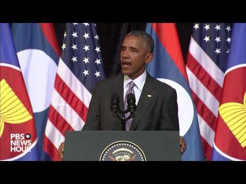 Watch President Obama speak in Laos