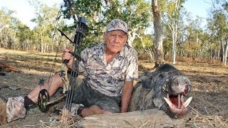 Bowhunting Wild Boars of Cape York