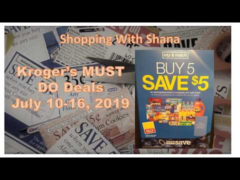 Kroger Mega Sale MUST DO Deals for July 10-16 | Moneymakers, FREEBIES, & Cheap