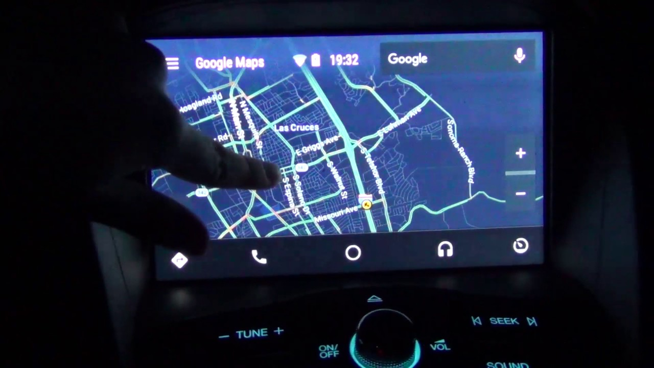 android auto on sync 3 v2 2 2016 ford c max hybrid youtube. Black Bedroom Furniture Sets. Home Design Ideas