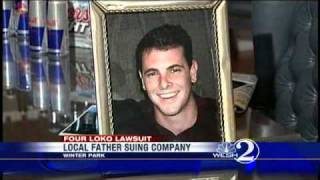 Local Family Sues Four Loko Maker