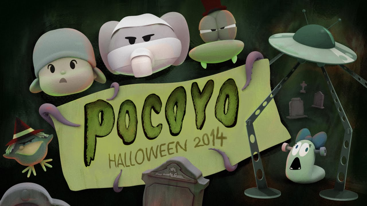 happy halloween pocoyo