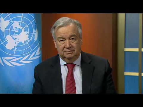 Gender-Based Violence and COVID-19 - UN chief video message
