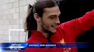 Carroll future takes twist, Walcott wants Arsenal stay