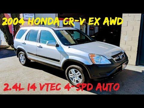 2004 Honda CR-V EX AWD 2.4L I4 VTEC **SOLD** San Luis Obispo, CA