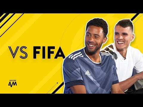 DEMBELE & LAMELA VS FIFA 17! 🔥🔥🔥