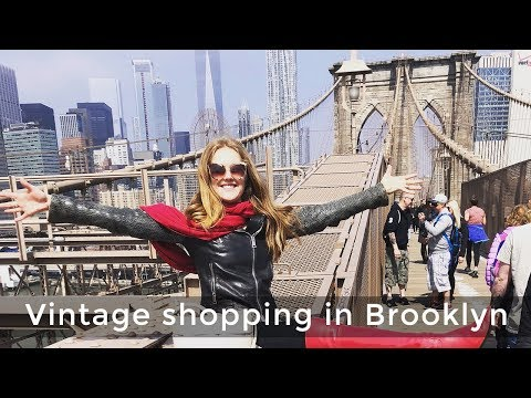 Where to shop in New York for women over 40 - vintage shopping in Brooklyn