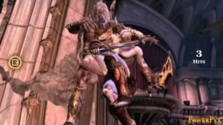 God Of War Iii - Bossfight Zeus (titan Diffculty)