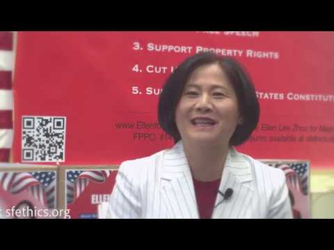 Ellen Lee Zhou, The Sensible Mayor 2019 To Empower SF To Take Back The City! Drain The Swamp!