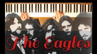 One of These Nights (The Eagles) [Easy-Intermediate Piano Tutorial]