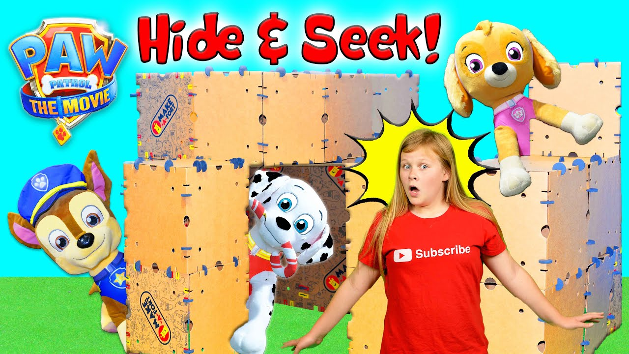 Download Assistant plays Box Fort Hide & Seek with Paw Patrol and Magic Snacks