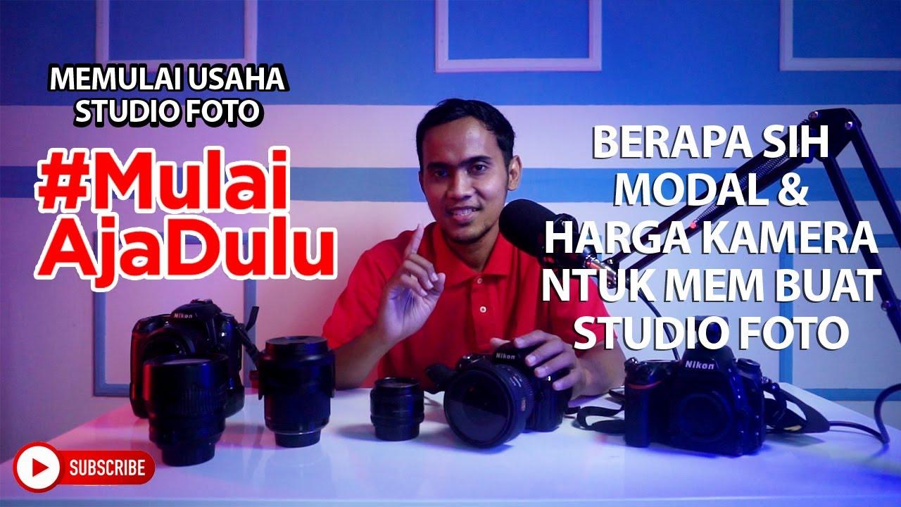 MEMULAI USAHA FOTO STUDIO II BERAPA SIH MODAL DAN HARGA ...