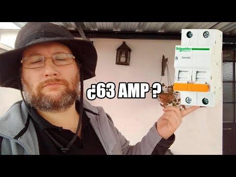 Electricidad - Termica De 63 Amperes. Se Le Iba A Incendiar La Casa !!!