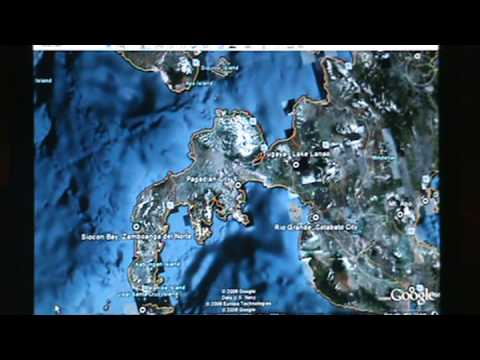 Google Earth Mindanao Philippines Tour YouTube - Map of the philippines via satellite live