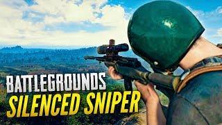 SILENCED AWM & M24 DESTRUCTION! - BATTLEGROUNDS (PUBG)
