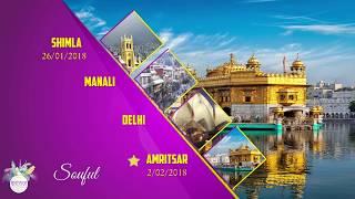 Download Lagu Shimla - Kulu - Manali- Delhi - Agra - Chandigarh - Amritsar mp3