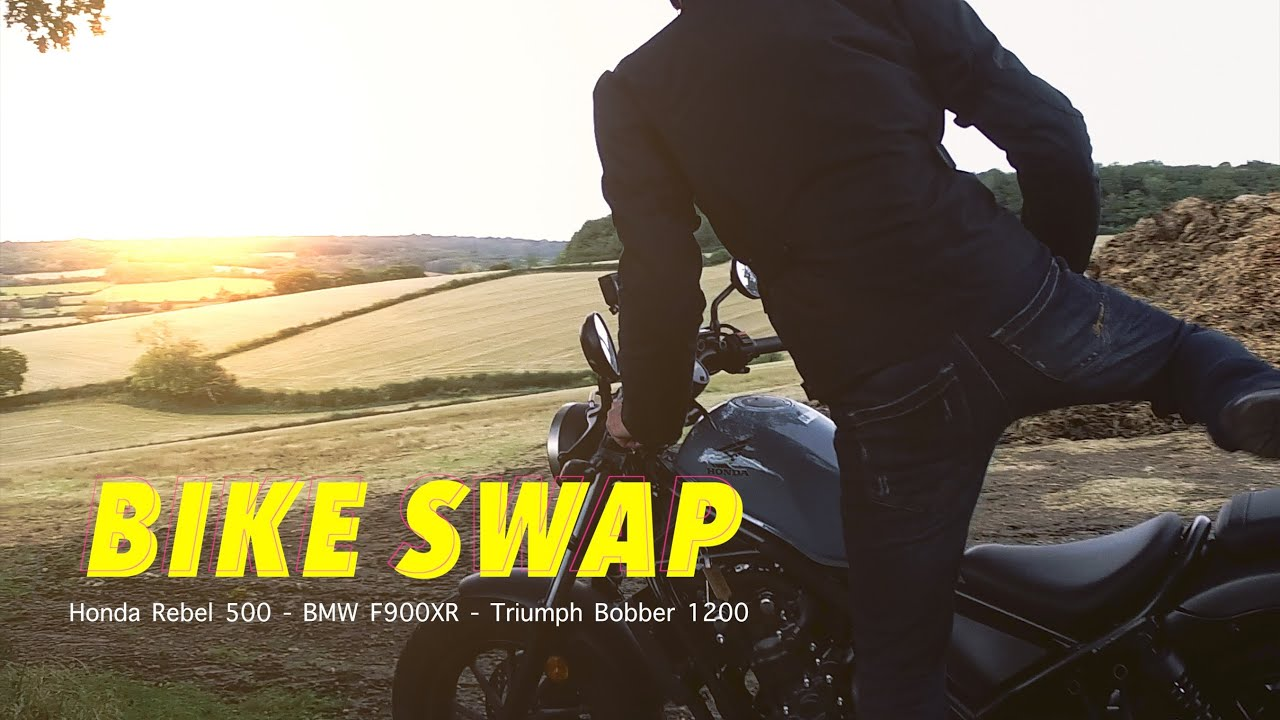 Bike Swap - when friends ride each other's bike!