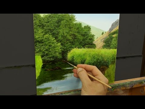 37 How To Block In With Acrylics Oil Painting Tutorial