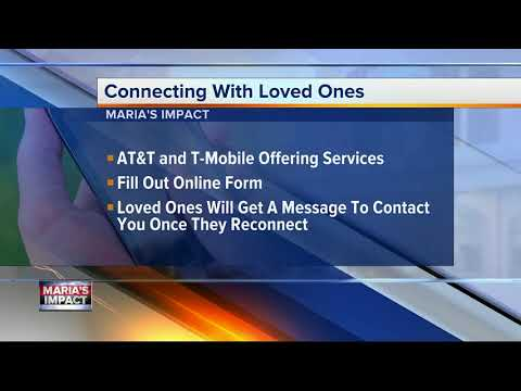 AT&T service helps you get in touch with loved ones in Puerto Rico