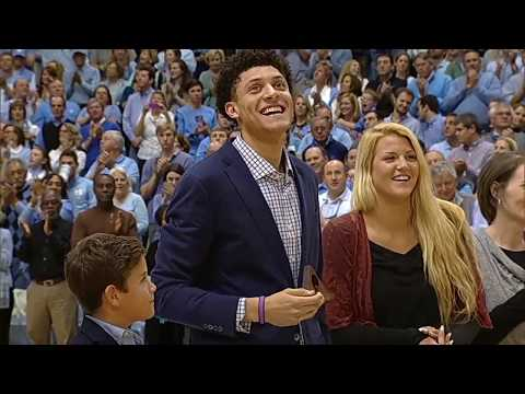 UNC Men's Basketball: Justin Jackson's Jersey Honored in Smith Center Rafters