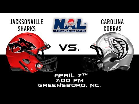 Jacksonville Sharks vs. Carolina Cobras