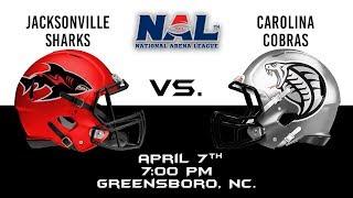 Jacksonville Sharks vs. Carolina Cobras