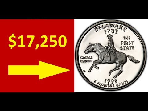 VERY VALUABLE 1999S DELAWARE QUARTER TO LOOK FOR - QUARTERS WORTH MONEY