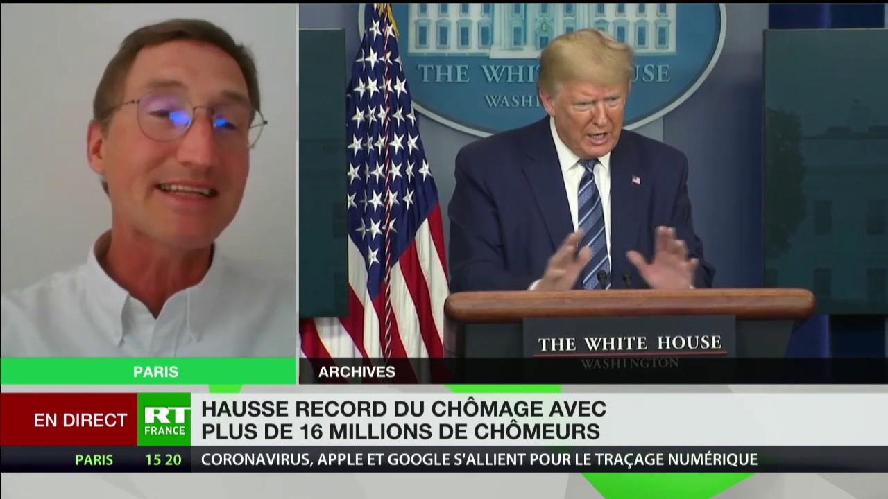 Chômage aux Etats-Unis : «Si le confinement continue, ce serait catastrophique pour Trump»