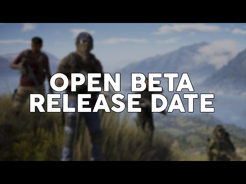 Ghost Recon Wildlands Open Beta Date! Ghost Recon Wildlands Open Beta Release Date!