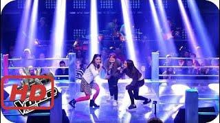 The voice 2017 america  Ariana Grande - Focus (Sanie, Anne, Maria) | The Voice Kids 2016 | Battles