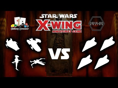 X-Wing - BOUNTY MATCH - Lowhhrick | Hakatsu Vs. Modest_Proposal