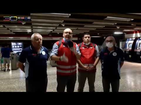 Sindicato Metro exige reducir servicio por riesgo de contagio coronavirus