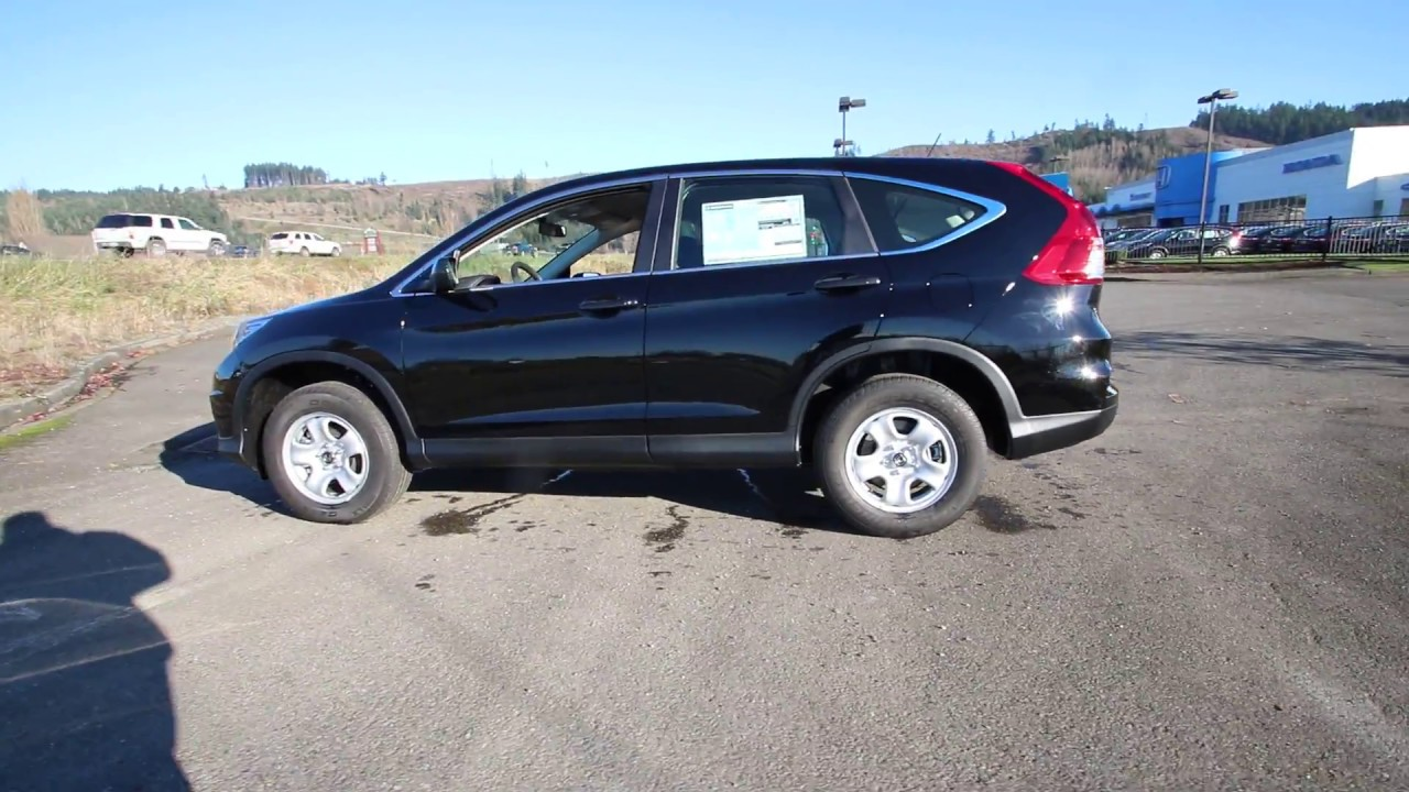 2016 Honda Cr V Lx Black Gh719999 Seattle Sumner