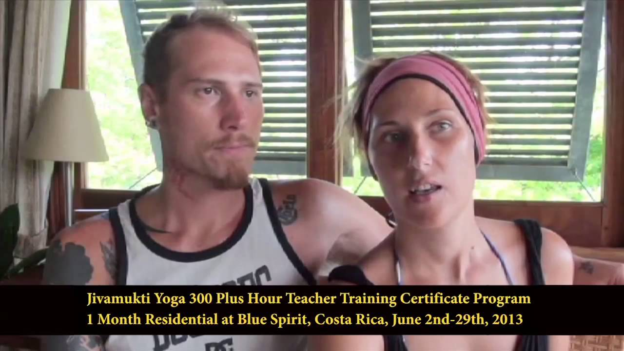 2013 Jivamukti Yoga Teacher Training At Blue Spirit In Nosara Costa Rica Youtube