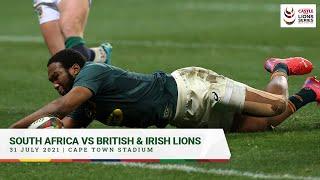 SPRINGBOKS VS BRITISH & IRISH LIONS 31 JULY 2021 | CAPE TOWN STADIUM