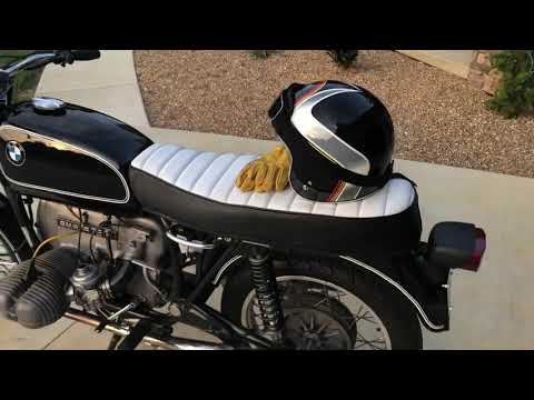 1974 BMW R75/6 Review