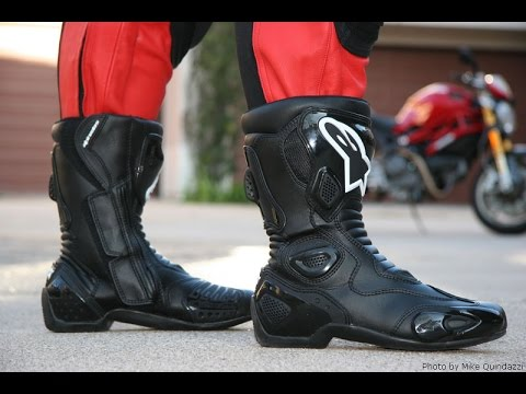 alpinestars smx 5 motorcycle boots review youtube. Black Bedroom Furniture Sets. Home Design Ideas
